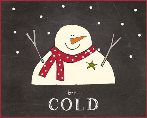 Snowman-brr-cold