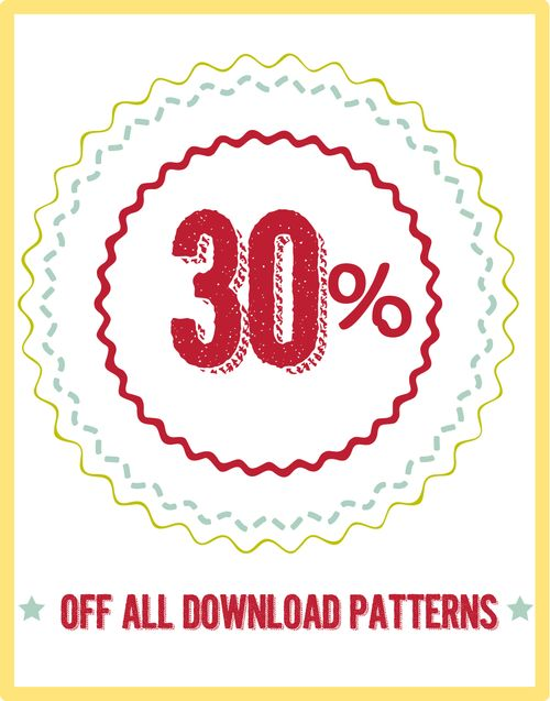 30% off patterns